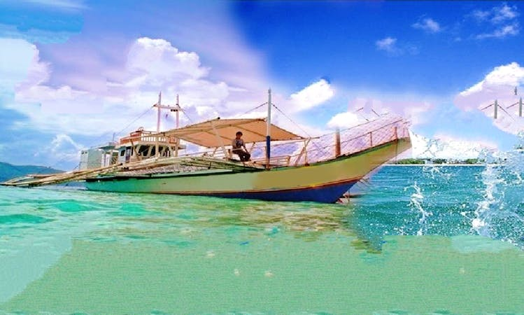 Available now! sand bar and dolphin watching contact us
