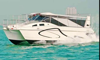Charter Aquacat Power Catamaran in Muang Pattaya, Thailand