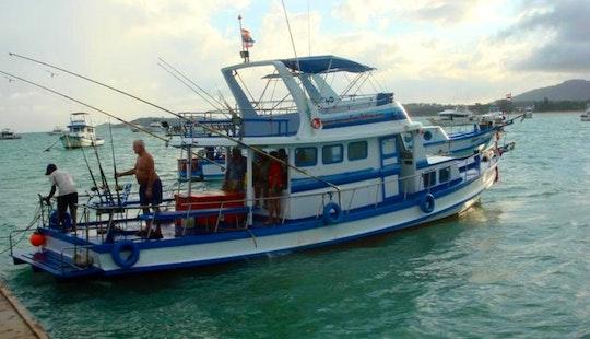 Charter Thai Fishing And Cruising P11 In Phuket, Thailand.