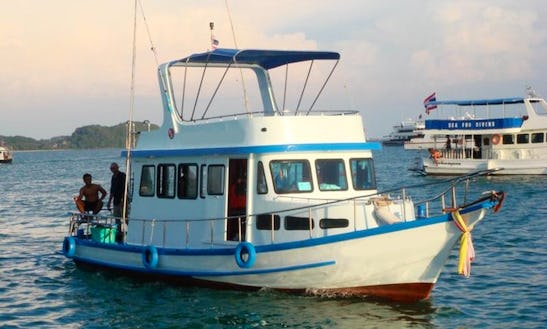 Charter This Thai Cruiser P1 , Cruising And Fishing In Phuket, Thailand