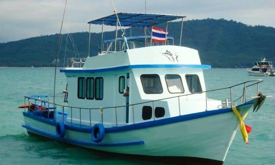 Enjoy Fishing On This Sport Fisherman Charter P13 In Tambon Chalong, Thailand