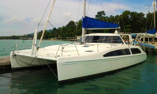 Charter 38' Seawind Cruising Catamaran In Phuket, Thailand
