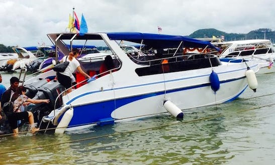 Charter A Bowrider In Phuket, Thailand