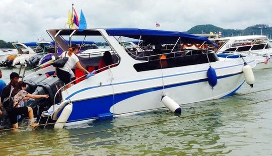 Charter A Bowrider In Phuket, Thailand
