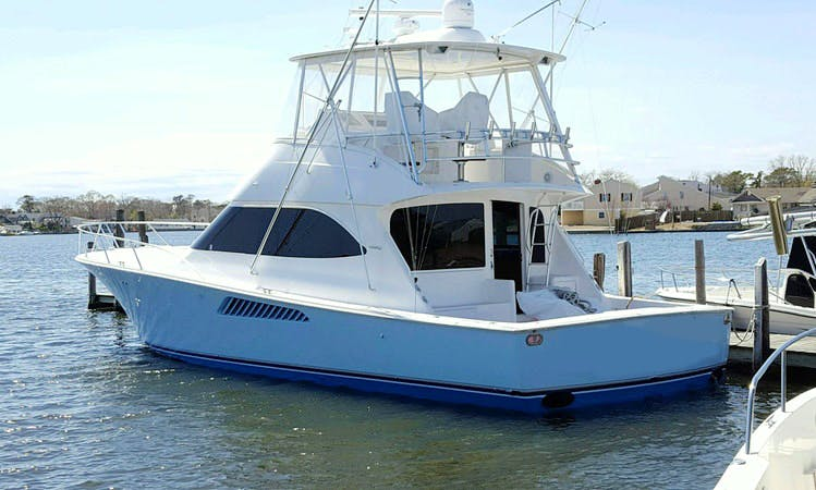 50' Sport Fisherman Charter in Point Pleasant/Brielle, New Jersey