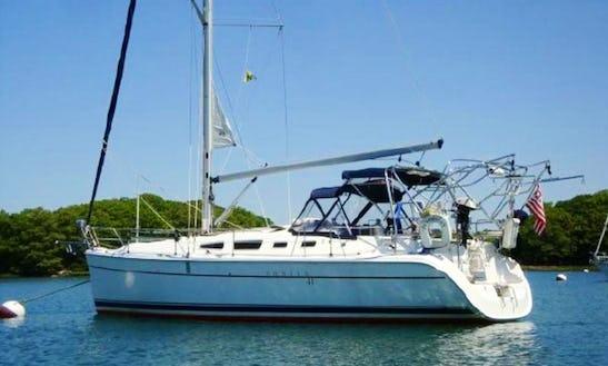 Hunter 41 Sailing Yacht Charter In Deltaville, Virginia
