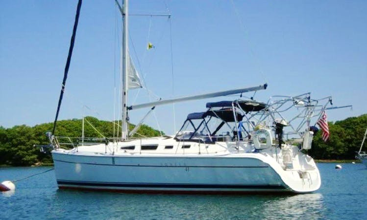Hunter 41 Sailing Yacht Charter In Deltaville, Virginia