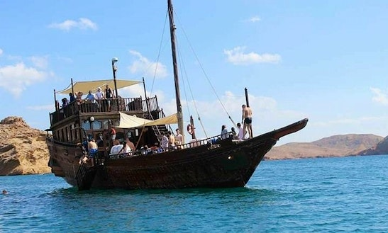 Charter A Traditional Boat With Captain In Muscat, Oman