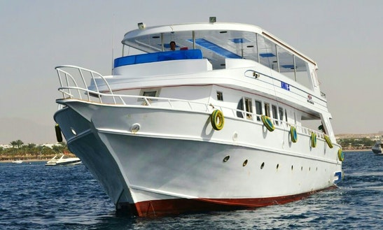 12 Person Motor Yacht Charter In South Sinai Governorate, Egypt