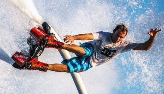 Enjoy Flyboarding In Kecamatan Gianyar, Indonesia
