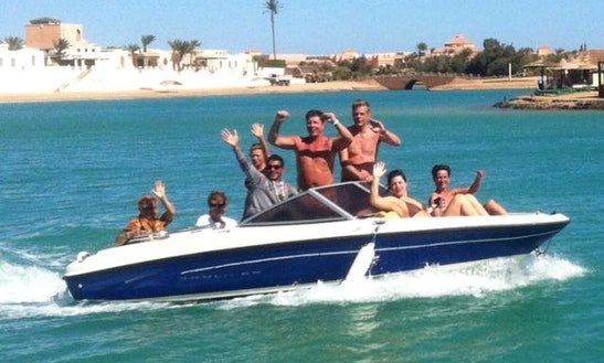 Charter A 7 Person Bowrider In Red Sea Governorate, Egypt