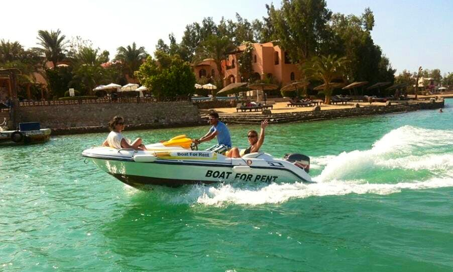 Rent a Bowrider in Red Sea Governorate, Egypt for up to 4 people
