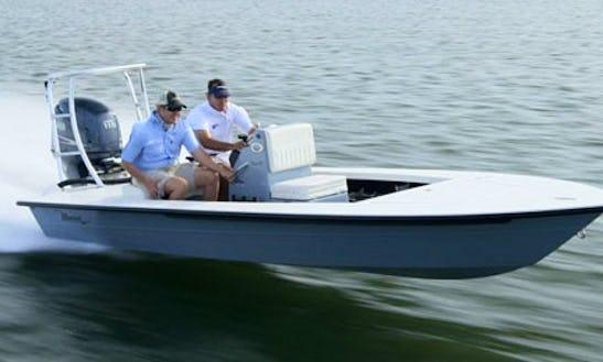 Rent 18' Maverick Flats Boat In Islamorada, Florida