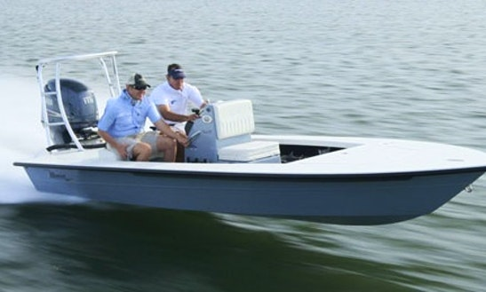 Rent 18' Maverick Flats Boat In Islamorada, Florida