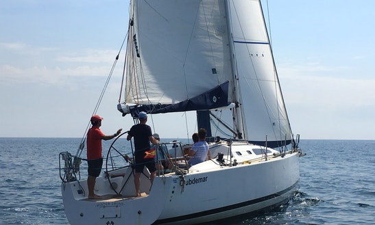 Charter The Malbec 360 Racing Sailboat In Barcelona, Cataluña