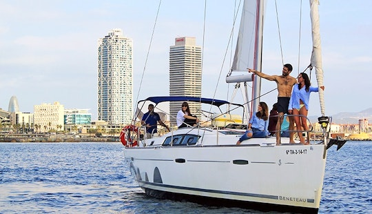 Sailing Experience With Captain Included At Barcelona