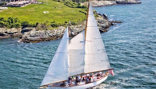 Sail The 72ft Schooner
