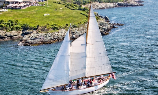 Sail The 72ft Schooner