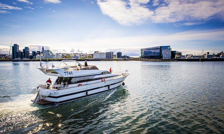 Charter a 35 Person Cantieri di Pisa Motor Yacht in Reykjavík, Iceland