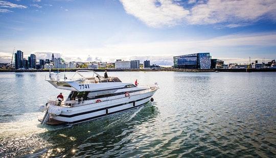 Charter A 35 Person Cantieri Di Pisa Motor Yacht In Reykjavík, Iceland