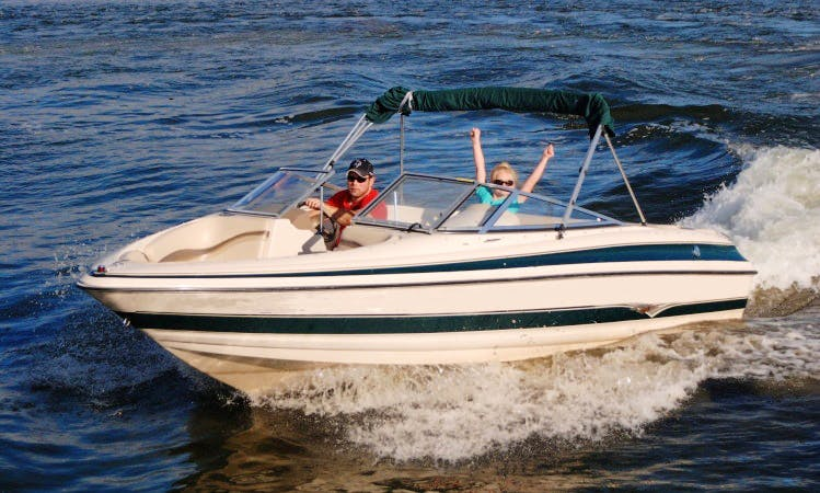 Larson LXi Bowrider Pleasure Boats for 9 People in Walker, Minnesota