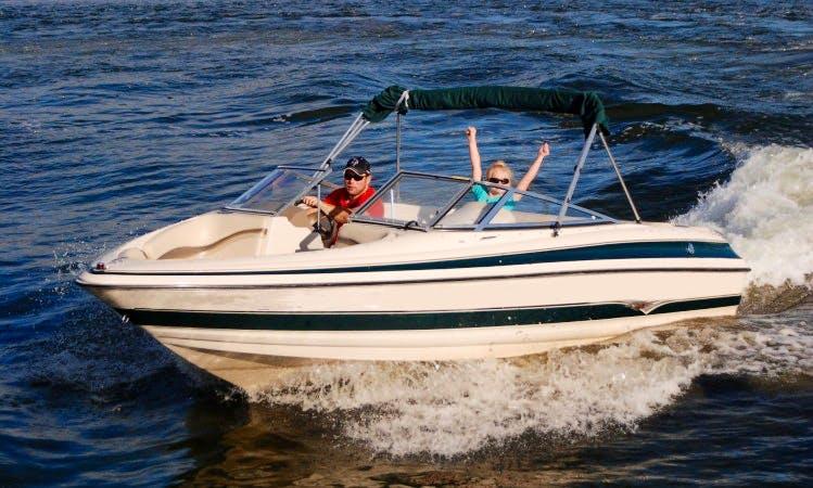 Larson LXi Bowrider Pleasure Boats for 9 People in Walker, Minnesota