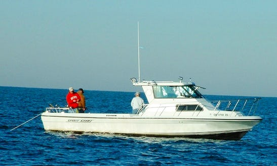 30' Sportcraft Sport Fisherman Charter In Marblehead, Ohio