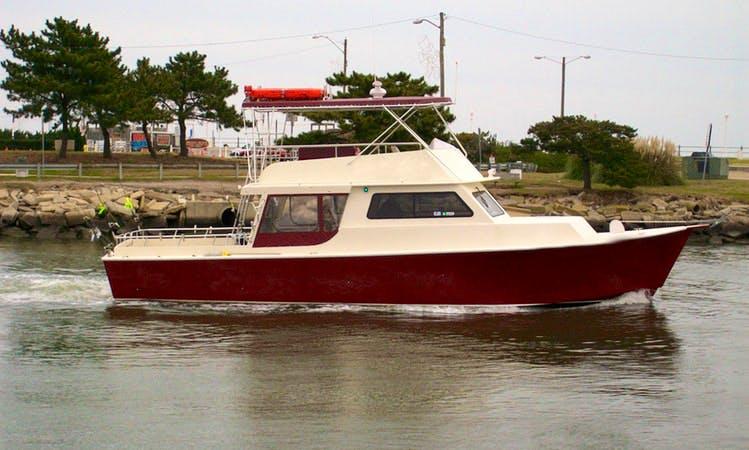 """52ft """"Net Profits"""" Fishing Charter in Stevensville, Maryland"""