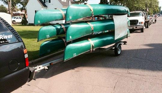 Canoe Rental On Snake River
