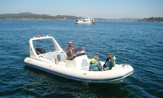 26ft Luxury Zodiac Medline Iii Rib Charter In Race Rocks, Metchosin British Columbia