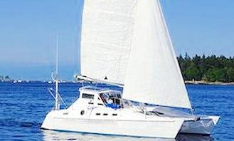 Shadowfax Cruising Catamaran Charter in Nanaimo, Canada