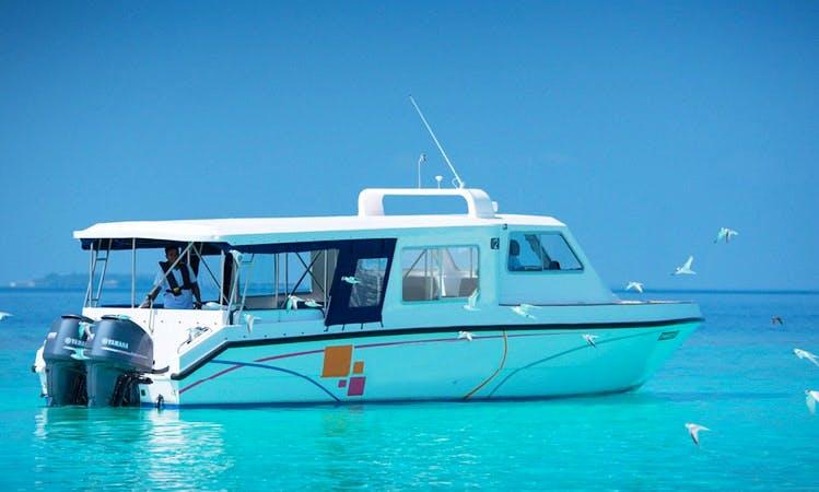Fun Boat in Malé!