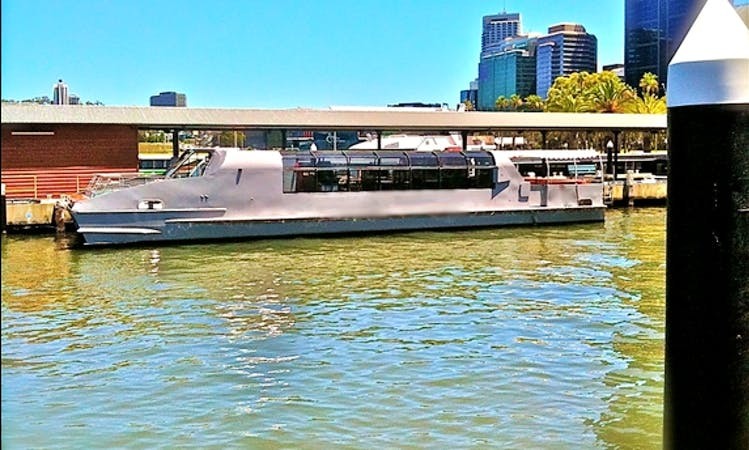 Captained Silver Cat Boat Charter in Perth, Western Australia