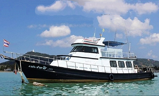 Enjoy Fishing In Phuket, Thailand On 52' Motor Yacht