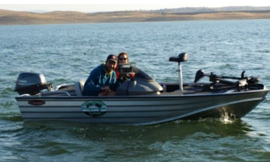 Enjoy Fishing In Puebla De Alcocer, Spain On Bass Boat