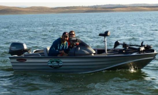 Enjoy Fishing In Puebla De Alcocer, Spain On Bass Boat