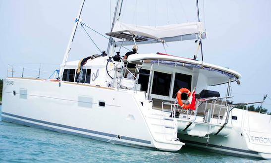 Luxury Catamaran Argon Charter In Singapore