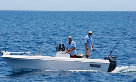 Charter Center Console Fishing From Exmouth, Australia