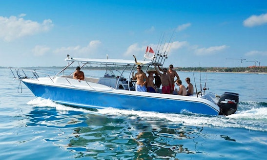 Enjoy Fishing In Kuta Selatan, Bali On 39' Center Console