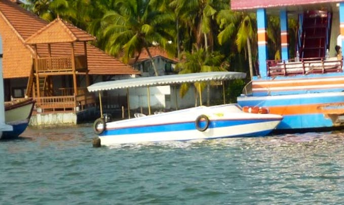Take a Quick Boat Ride in Kulathoor, Kerala for up to 8 People!