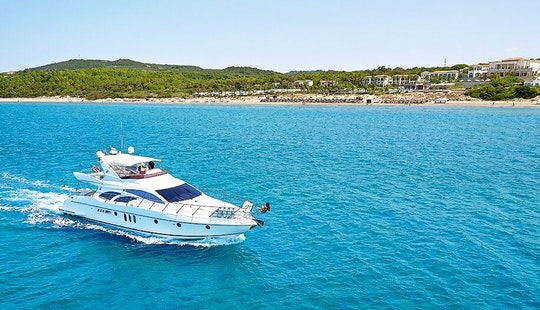 Skipper Charter On 62' Evolution Power Mega Yacht In Zakinthos, Greece