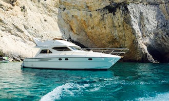 Cruise in Luxury on a Motor Yacht in Poros, Greece