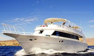 Passenger Boat Diving Charter in Sharm El-Sheikh, Egypt