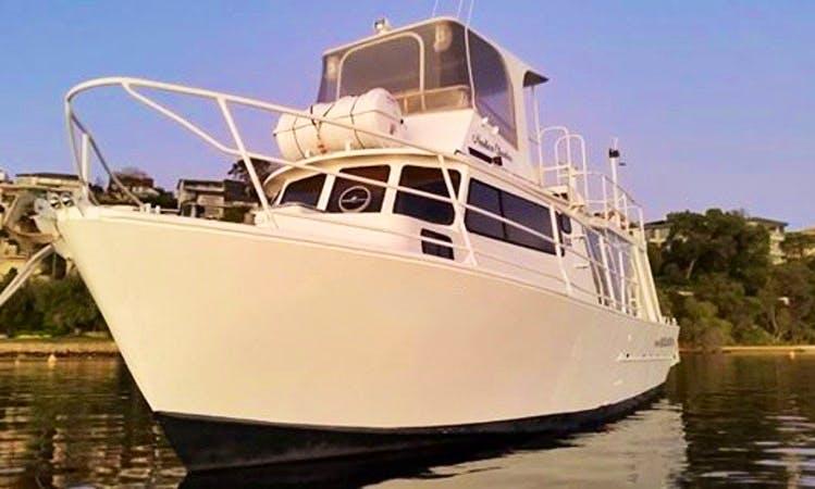 "Enjoy 40 ft ""Nautica"" Charter in East Perth, Western Australia"