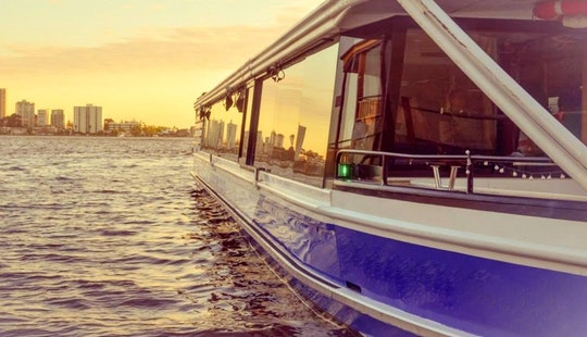 Scenic Cruise And Fully Air-conditioned Boat  Charter For 50-100 Person In Perth, Australia