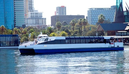 Scenic Boat Cruise And Cat Style Vessel For Charter In Perth, Australia