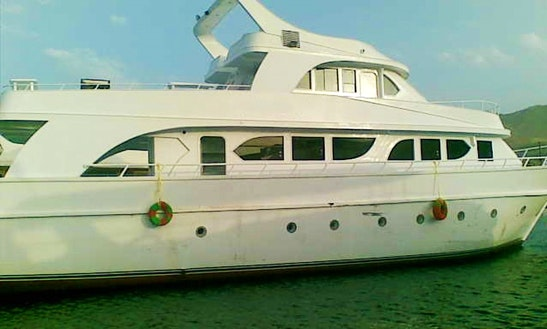 Motor Yacht Rental In Red Sea