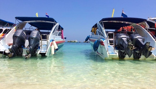 Snorkelling In 3 Islands! (phuket Boat)