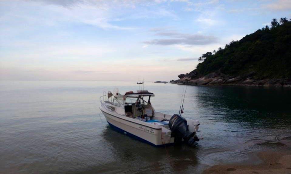 Enjoy Fishing in Ko Samui, Thailand on Cuddy Cabin