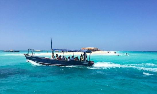 Rent 20 People Traditional Boat In Zanzibar, Tanzania!